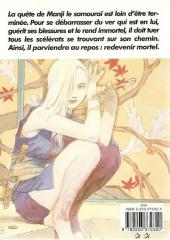 Verso de L'habitant de l'infini -6- Volume 6