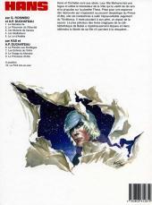 Verso de Hans (Duchâteau) -9- La princesse d'Ultis