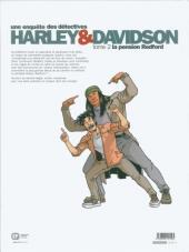 Verso de Harley & Davidson (Une enquête des détectives) -2- La pension Redford