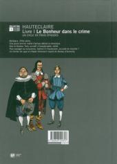 Verso de Hauteclaire -1- Le bonheur dans le crime