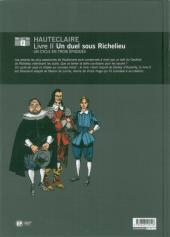 Verso de Hauteclaire -2- Un duel sous richelieu