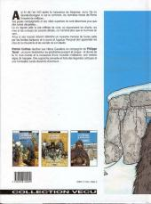 Verso de Les héros cavaliers -3- Mark de cornwall