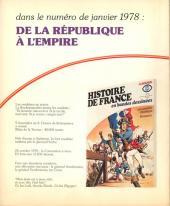 Verso de Histoire de France en bandes dessinées -15- La Révolution