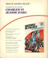 Verso de Histoire de France en bandes dessinées -8- La guerre de 100 ans, du Guesclin
