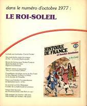 Verso de Histoire de France en bandes dessinées -12- Henri IV, Louis XIII
