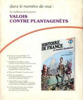Verso de Histoire de France en bandes dessinées -7- La chevalerie, Philippe le Bel
