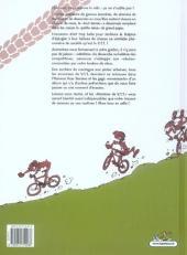 Verso de Histoires de VTT -1a- On the rock