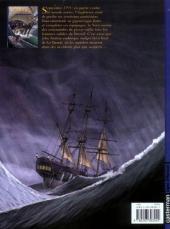 Verso de H.M.S. - His Majesty's Ship -1- Les Naufragés de la Miranda