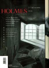 Verso de Holmes (1854/†1891?) -1- Épisode 1