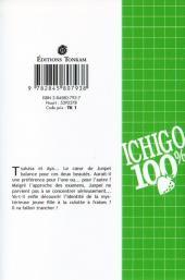 Verso de Ichigo 100% -2- Le Retour de la Fille Mystèrieuse
