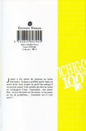 Verso de Ichigo 100% -3- La Roue Du Destin