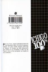 Verso de Ichigo 100% -8- Un peu de chaleur