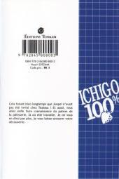 Verso de Ichigo 100% -9- L'agneau égaré sauvé par un dieu