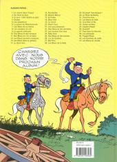 Verso de Les tuniques Bleues -1d98- Un chariot dans l'Ouest