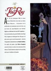 Verso de Le fou du Roy -9- Le testament de d'Artagnan
