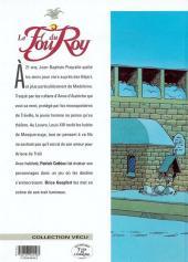 Verso de Le fou du Roy -5- Le masque et la plume
