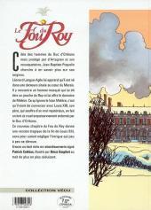 Verso de Le fou du Roy -6- Le baron de Molière