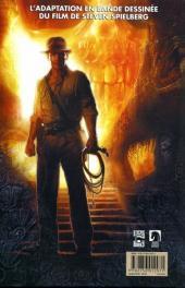 Verso de Indiana Jones -4- Le royaume du crâne de cristal