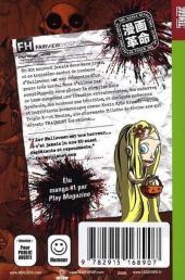 Verso de I Luv Halloween -3- Tome 3