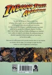 Verso de Indiana Jones Aventures -1- Tome 1