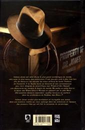 Verso de Indiana Jones -5- Indiana Jones et le tombeau des dieux