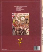 Verso de Les innommables (Premières maquettes) -1a- Aventure en jaune