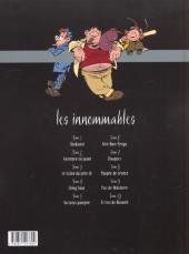 Verso de Les innommables (Série actuelle) -1- Shukumeï