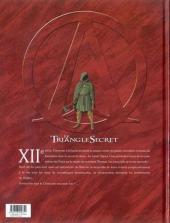 Verso de Le triangle Secret - I.N.R.I -3- Le Tombeau d'Orient
