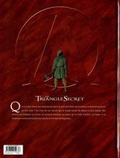 Verso de Le triangle Secret - I.N.R.I -4- Résurrection