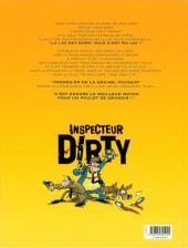 Verso de Inspecteur Dirty -1- Nul n'est censé ignorer ma loi