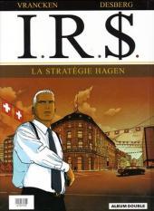 Verso de I.R.$ -INT FL- La voie fiscale / La stratégie Hagen