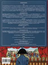 Verso de Jacques Martin présente -3- Bonaparte - la campagne d'Égypte