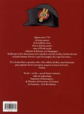 Verso de Jacques Martin présente -4- Napoléon Bonaparte - Tome 1