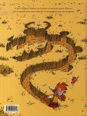Verso de Jane des dragons -2- Dans les griffes du griffon
