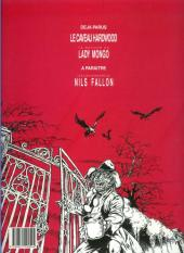 Verso de Les jardins de la peur -2- Le retour de Lady Mongo