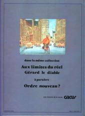 Verso de Jaunes -2- Gérard le diable