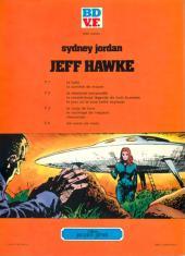 Verso de Jeff Hawke -5- Un corps étranger
