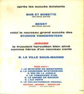 Verso de Jérôme -8- La ville sous-marine