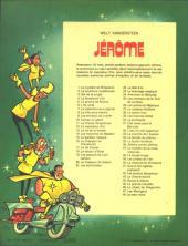 Verso de Jérôme -48- La main noire
