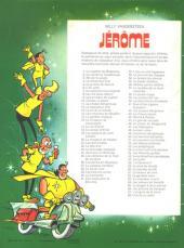 Verso de Jérôme -68- Une île au soleil