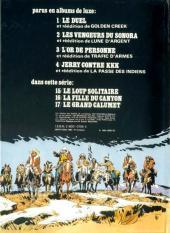 Verso de Jerry Spring -14a1980- Les broncos du Montana