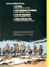 Verso de Jerry Spring -16- La fille du canyon