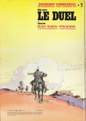Verso de Jerry Spring (Collection Spéciale grand format) -2- Les Vengeurs du Sonora + Lune D'Argent