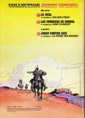 Verso de Jerry Spring (Collection Spéciale grand format) -3- L'or de personne + Trafic d'armes