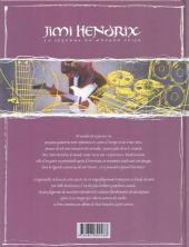 Verso de Jimi Hendrix - La Légende du Voodoo Child
