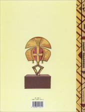 Verso de Jimmy Tousseul -1- Le serpent d'ébène
