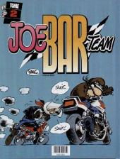 Verso de Joe Bar Team (France Loisirs) -1- Joe Bar Team tome 1 et tome 2