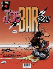 Verso de Joe Bar Team (France Loisirs) -2- Joe Bar Team tome 3 et tome 4