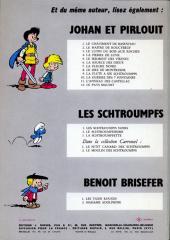 Verso de Johan et Pirlouit -1b68- Le châtiment de Basenhau