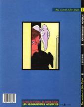 Verso de L'incal - Une aventure de John Difool -4- Ce qui est en haut